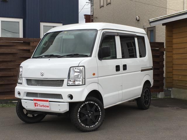 スズキ エブリイ PA 4WD リフトアップ 新品タイヤ (車検整備付)