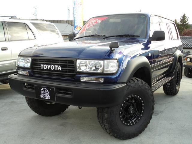 トヨタ VX-LTD中期モデル 3インチリフトアップ 背面レス4WD