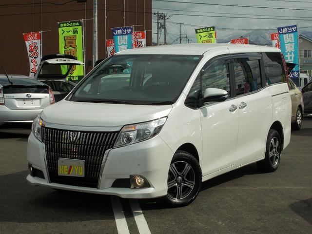 トヨタ エスクァイア Gi 1オーナーSDナビ 両側電動ドア シー...