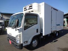 エルフトラック冷蔵冷凍車 低温−30℃ 新明和格納ゲート 1.95t