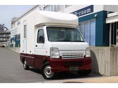 キャリイトラック KCエアコン・パワステ 移動販売車 外部電源 換気扇 5MT(スズキ)
