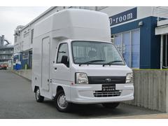 サンバートラック TB 移動販売車 8NO登録車 外部電源 サイドオーニング(スバル)