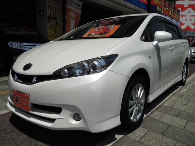 トヨタ 1.8S SDナビ フルセグ 3列シート キーレス