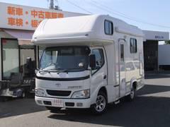カムロード ナッツRV ネオレクソン キャンピング ナビETC 8名乗り(トヨタ)