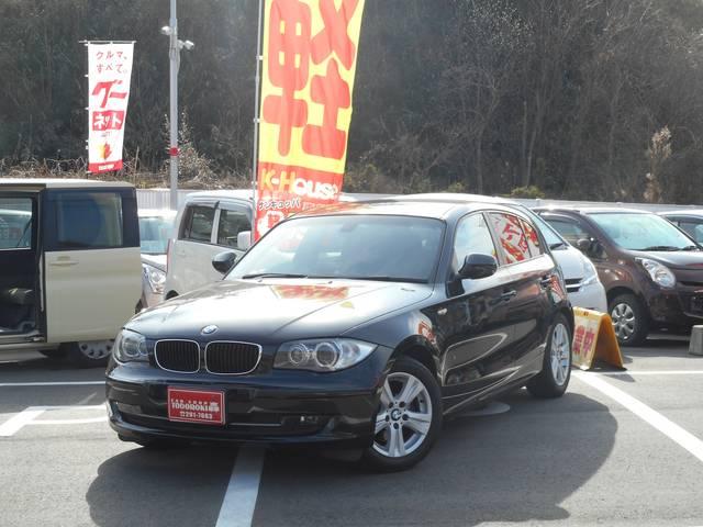BMW 1シリーズ 120i 純正アルミ HDDナビ HID スマ...