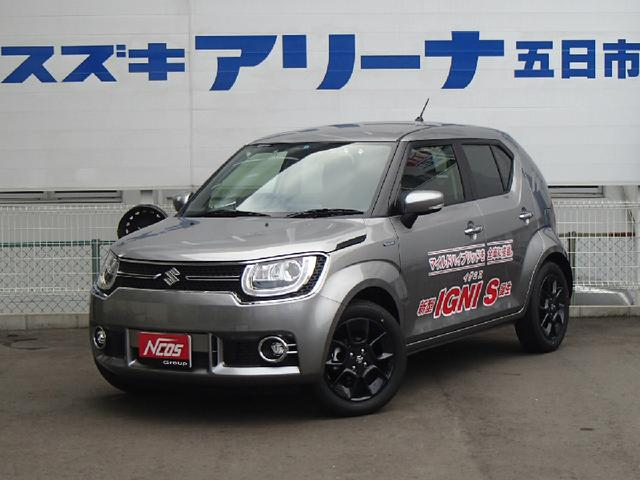 suzuki ignis hybrid mz 2016 light gray m 76 km details japanese used cars goo net exchange. Black Bedroom Furniture Sets. Home Design Ideas