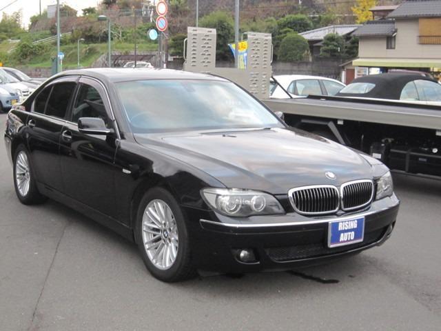 BMW 7シリーズ 750i HDDナビ ETC シートヒーター ...