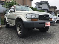 ランドクルーザー80GX 後期 ターボ 観音開 背面タイヤ