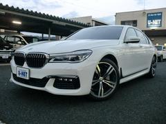 BMW740i Mスポーツ ブラックレザー レーザーライト SR