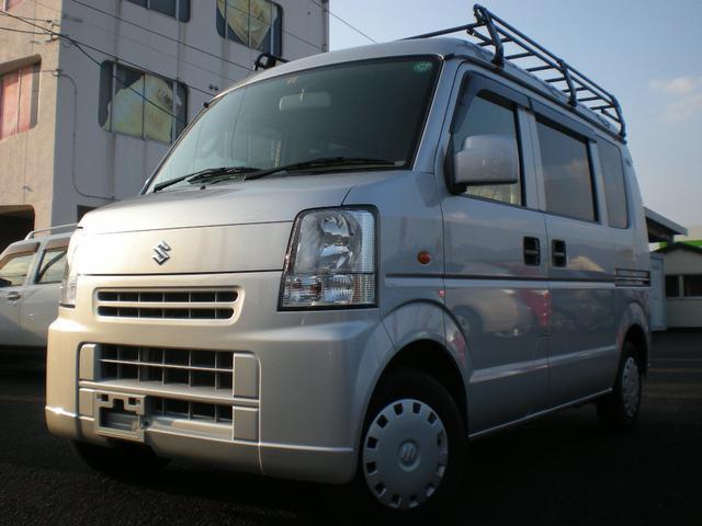 スズキ エブリイ ジョインターボ 4WD ナビ TV 5速ミッショ...
