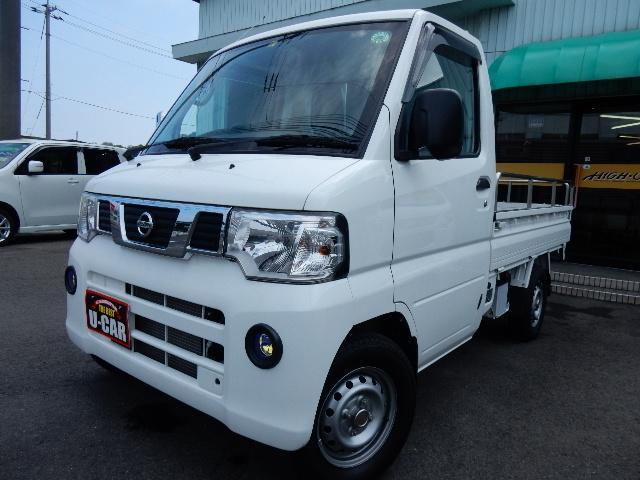 日産 NT100クリッパートラック DX 4WD パワステ エアコ...
