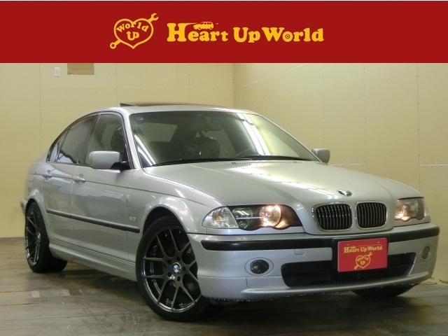 BMW 3シリーズ 323i Mスポーツ 社外18AW SR サン...