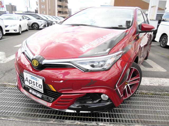トヨタ 150X ナビTV 専用内外装 シャア専用オーリスII