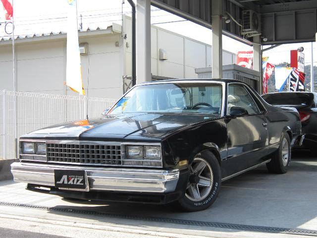 シボレー 8ナンバー放送宣伝車 1984モデル