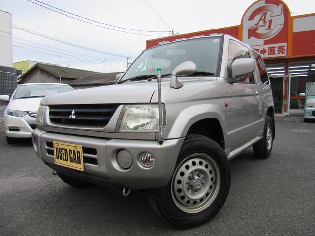 三菱 パジェロミニ XR 4WD 5速MT ETC キーレス AB...