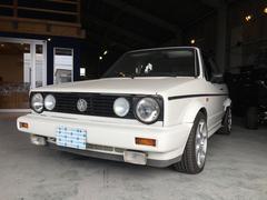 VW ゴルフカブリオレ左ハンドル ローダウン 社外16AW