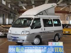 バネットバン キャンピングカー広島プチ FFヒーター ツインサブバッテリー(日産)