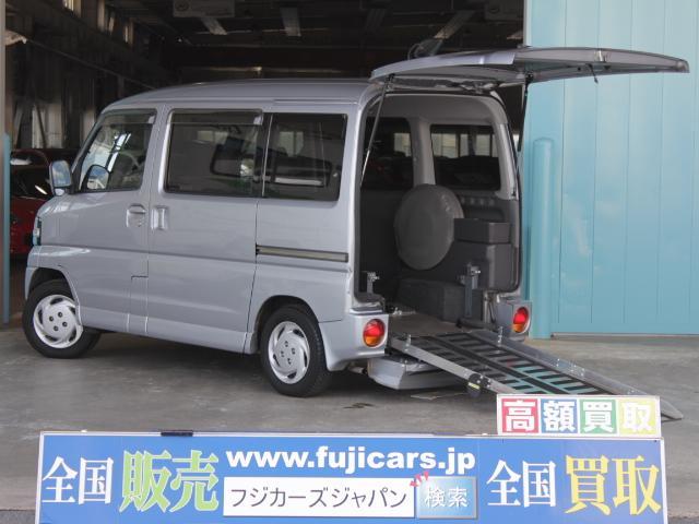 三菱 タウンボックス 福祉車両 4WD スロープ 補助席タイプ 車...