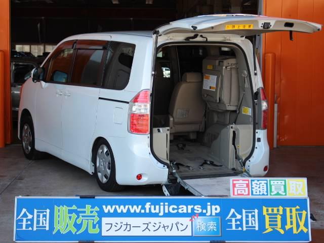 トヨタ 福祉車輌 ウェルキャブ スロープ 車いす2基積 電動ウィンチ
