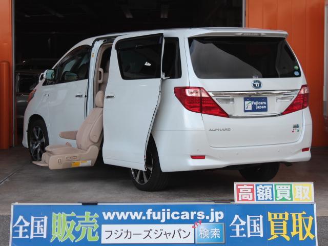 トヨタ X サイドリフトアップシート福祉車輌 サンルーフ HDDナビ