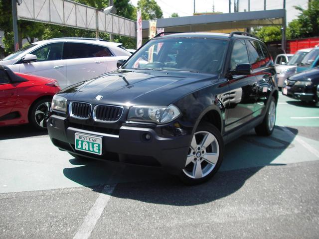 BMW X3 2.5i 4WD ベンチレーター付きパワーシート H...