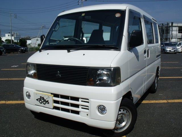 三菱 ミニキャブバン CL 4WD オートマ キーレス 両側スライ...