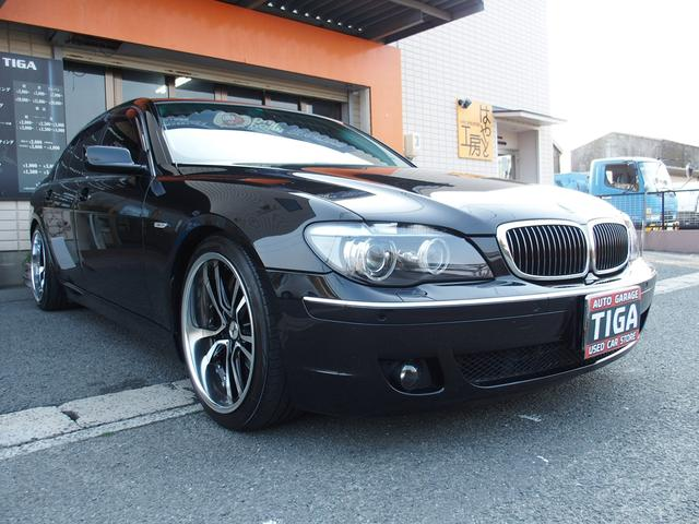 BMW 7シリーズ 750i 革エアーシート HDDナビ サンルー...