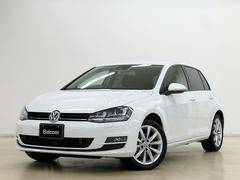 VW ゴルフTSIハイラインブルーモーションテクノロジー 純正SDナビ