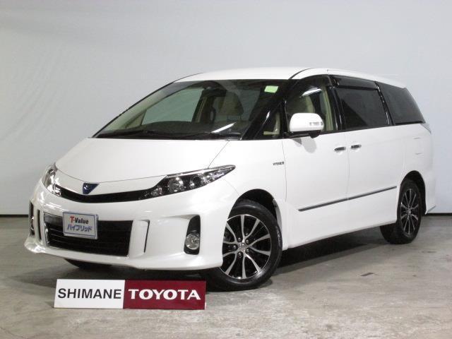 トヨタ HDDフルセグナビ付17インチアルミホイール付ワンオーナー