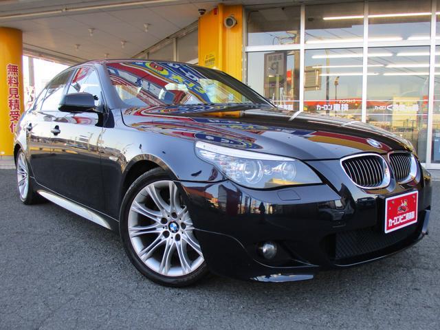 BMW 5シリーズ 525i Mスポーツパッケージ 人気の黒 (なし)