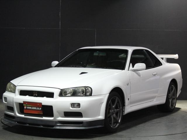 日産 GT-R V2ボンネット Fリップ 純正18アルミ