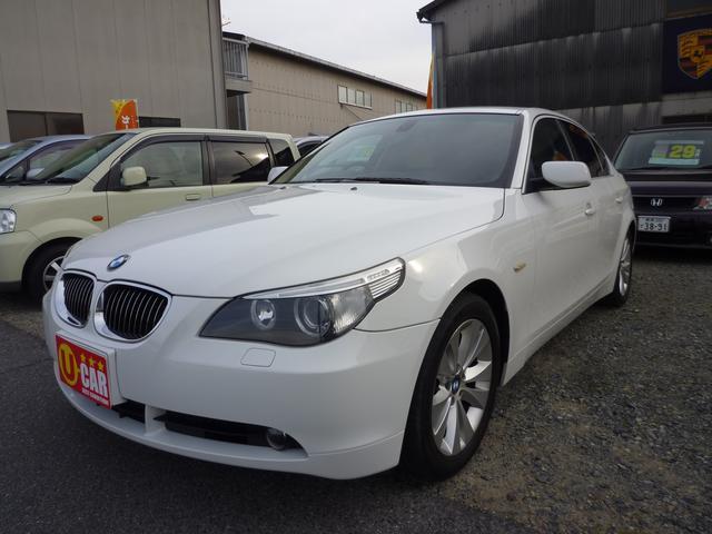 BMW 5シリーズ 525iハイラインパッケージ HID ナビ E...