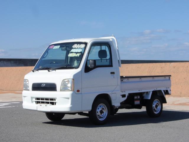 スバル サンバートラック TC 4WD エアコン パワステ (なし)