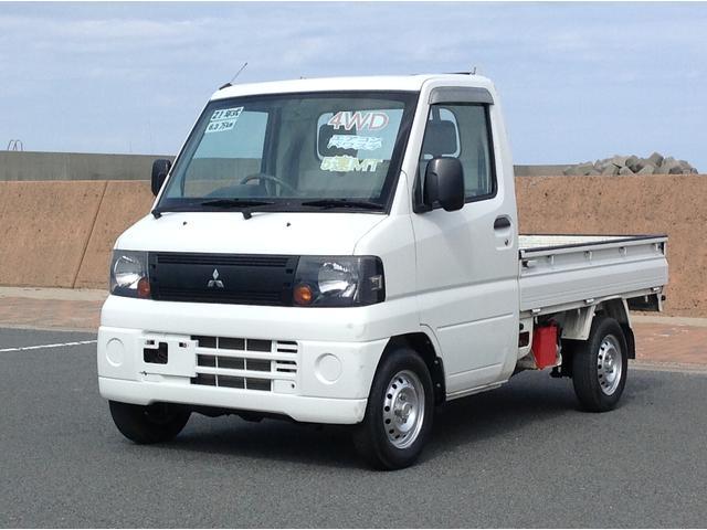 三菱 ミニキャブトラック 4WD 5MT エアコン パワステ (車...