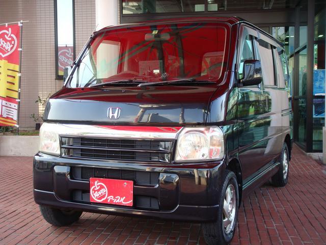 ホンダ バモス ターボ 4WD (車検整備付)