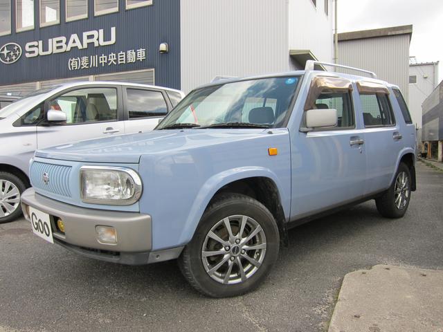 日産 ラシーン タイプII 4WD キーレス アルミホイール (車...