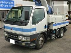 キャンター全低床SA 2t高所作業車 アイチSH106 10.6m