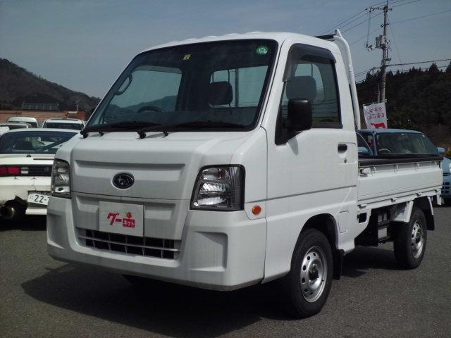 スバル サンバートラック 4WD 5速MT 作業灯付 Goo鑑定車...
