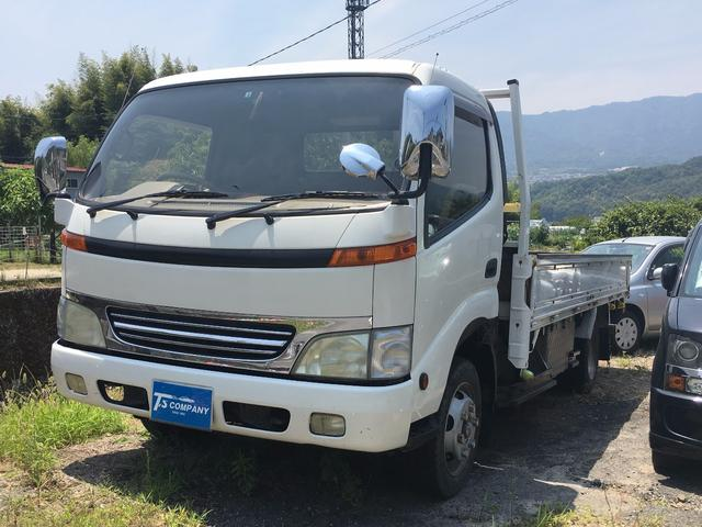 トヨタ 平ボディー 3トン ETC ドライブレコーダー