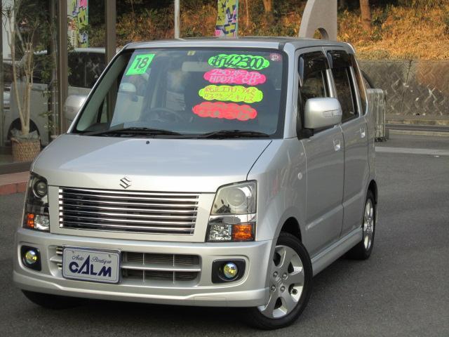 ☆走行42000キロ内外装共に綺麗なターボ車です☆HDDナビ・CD・DVD・エアロ・14アルミ・HID・キーレス・ターボ車