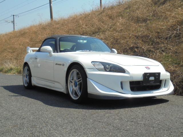 ホンダ S2000 フロントリップスポイラー 社外17インチアルミ...