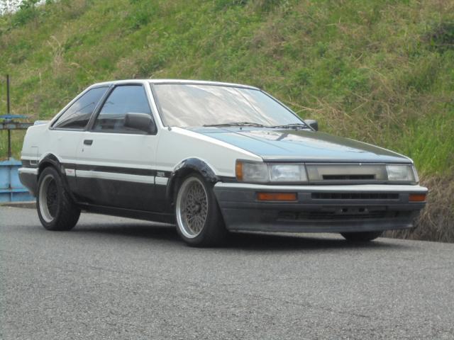 トヨタ GT APEX SSR15インチアルミ RECAROシート