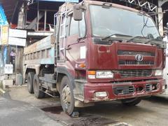 UDトラックスダンプ 7速MT ツーデフ 最大積載量8900kg