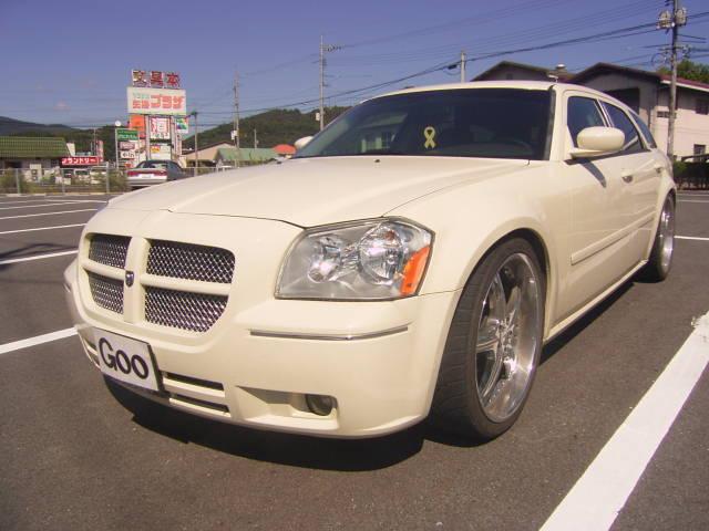 ☆Wヘッドレスト&ルームミラーモニター!ローダウン☆2005年モデル・黒革・外マフラー・サブウーファー・E&Gフロントグリル