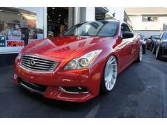 インフィニティ G37G37クーペ2010年後期モデル新車並行CAR FAX付き