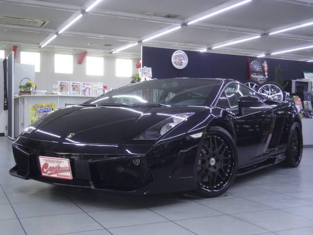 ランボルギーニ eギア 黒革白ステッチシート フルエアロ 正規ディーラー車