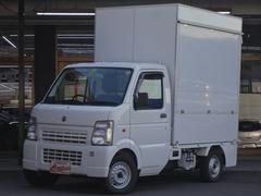 キャリイトラック KC 移動販売車 シンク 水道 外部電源設備等(スズキ)