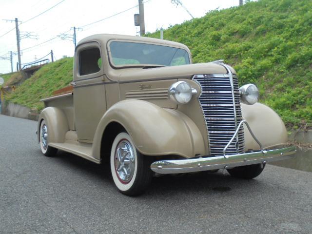 シボレー 1938モデル PICK UP Truck 直6 マニ割り