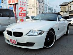 BMW Z4ロードスター2.5i 黒革 レムスマフラー 外18インチAW