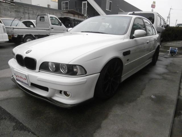 BMW 5シリーズ 540i 外19AW ブレンボ 革 SR ロー...